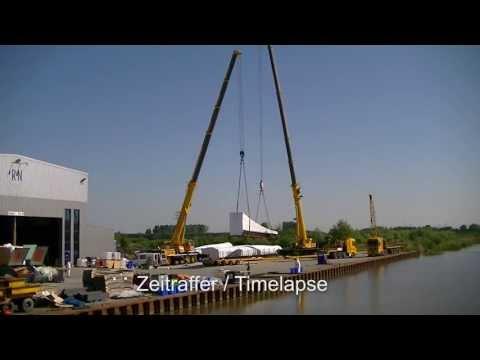 Kran Tandemhub Liebherr und Grove / Crane Tandem Lift Liebherr and Grove