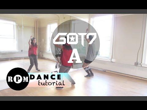 """GOT7 """"A"""" Dance Tutorial (Pre-chorus, Chorus, Quick Step)"""