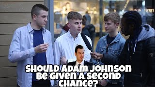 Should Ex football player Adam Johnson Be Given a Second Chance?