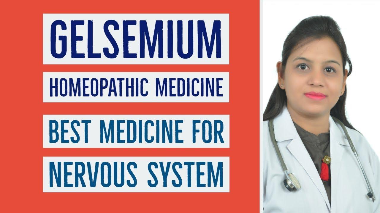Gelsemium Homeopathic medicine | Best Medicine for Nervous System Symptoms  & Uses in Hindi