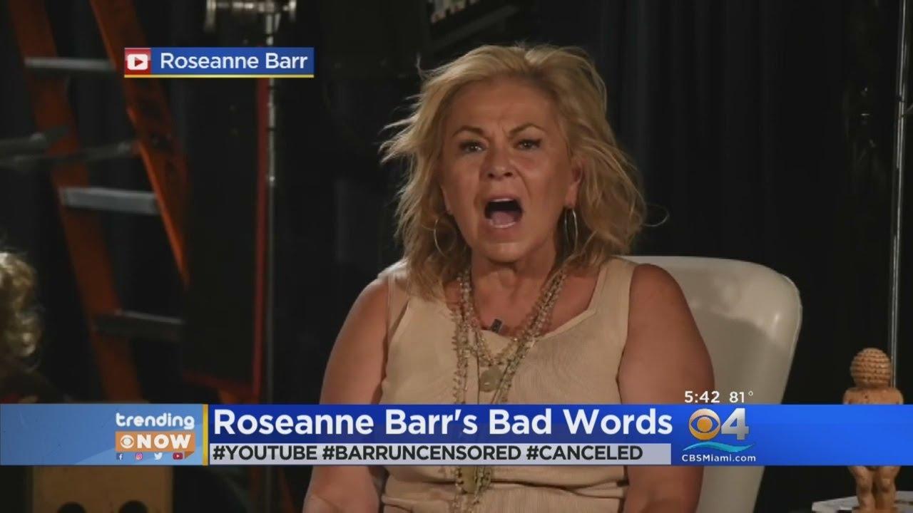 Trending: Roseanne Barr's Bad Words