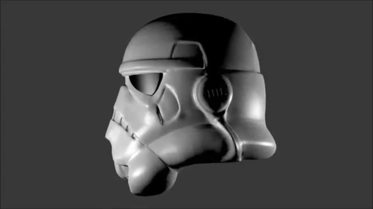 3D Printable Full Scale StormTrooper Helmet
