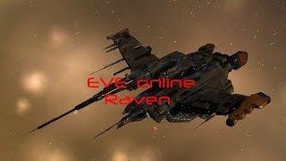 EVE online Raven классический капостабильный фит