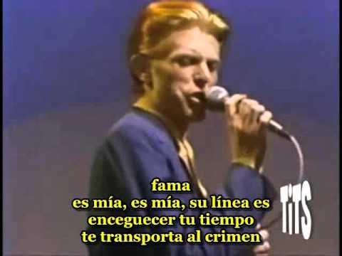 David Bowie - Fame - subtitulado español
