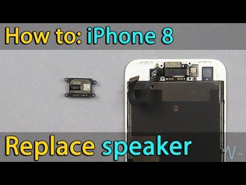 iPhone 8 speaker replacement
