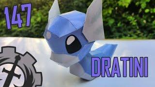 Como hacer ... a Dratini  papercraft