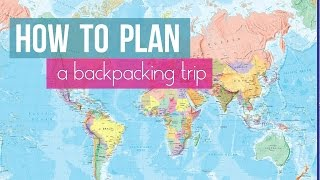 PLANNING YOUR BUDGET & TRAVEL ITINERARY