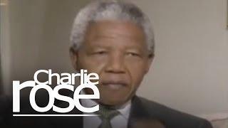 Nelson Mandela   Charlie Rose
