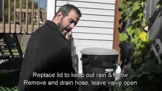 How To Prepare Your Rain Barrel For Winter