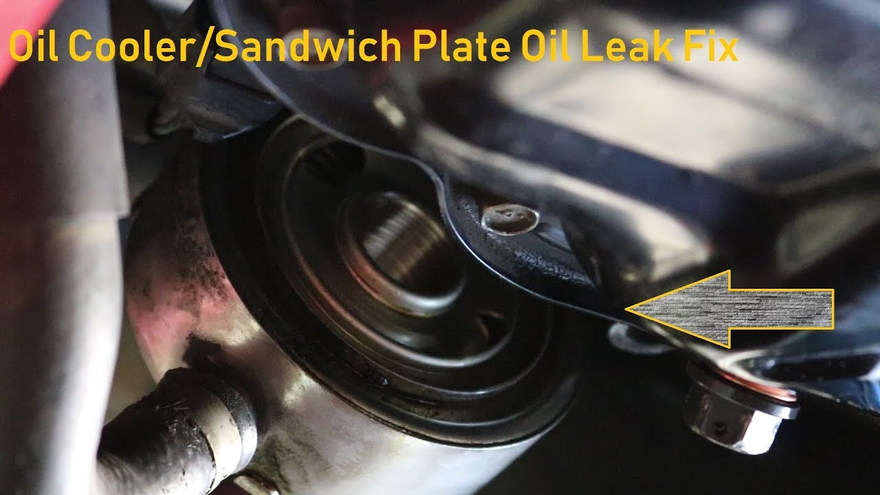 350Z Oil Leak Fix Z33 350Z OEM Oil Cooler O-Ring Replacement
