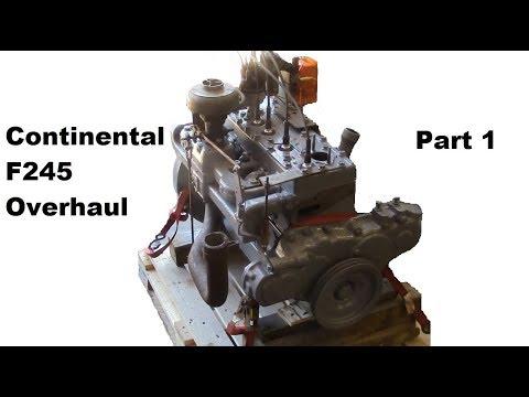 Continental F245 Flathead Engine Overhaul - Part 1 (building the short block)