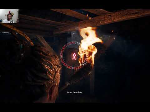 Hellblade Senua's Sacrifice: facing the past(raw footage)