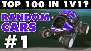 Rocket League | Top 100 in Ranked 1v1 with Random Cars #1 (Highlights)