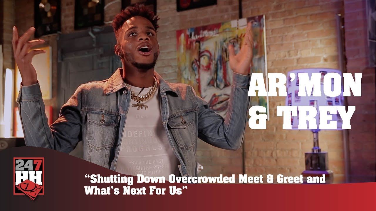 Armon Trey Shutting Down Overcrowded Meet Greet And Whats