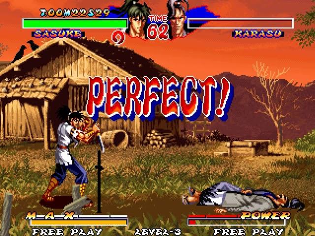 Jouez à Ninja Master's sur SNK Neo Geo grâce à nos Bartops Arcade et Consoles Retrogaming