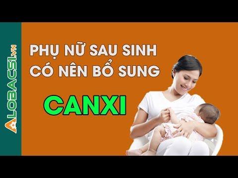 Phụ Nữ Sau Sinh Bổ Sung Canxi Như Thế Nào?