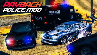 NFS Most Wanted   Payback Police Mod + Final Pursuit Gameplay