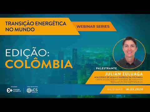 Webinar series: Energy Transition in the World – Edition: Colombia
