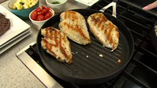 "Emeril by All-Clad Hard Anodized 12"" Round Grill Pan on QVC"