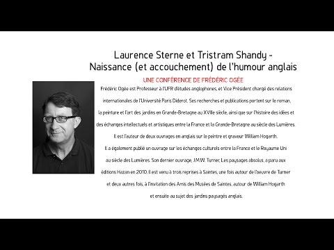 Trafic D'Art - LAURENCE STERNE ET TRISTRAM SHANDY