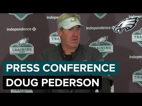Doug Pederson Announces Carson Wentz Will Participate In Team Drills | Eagles Press Conference