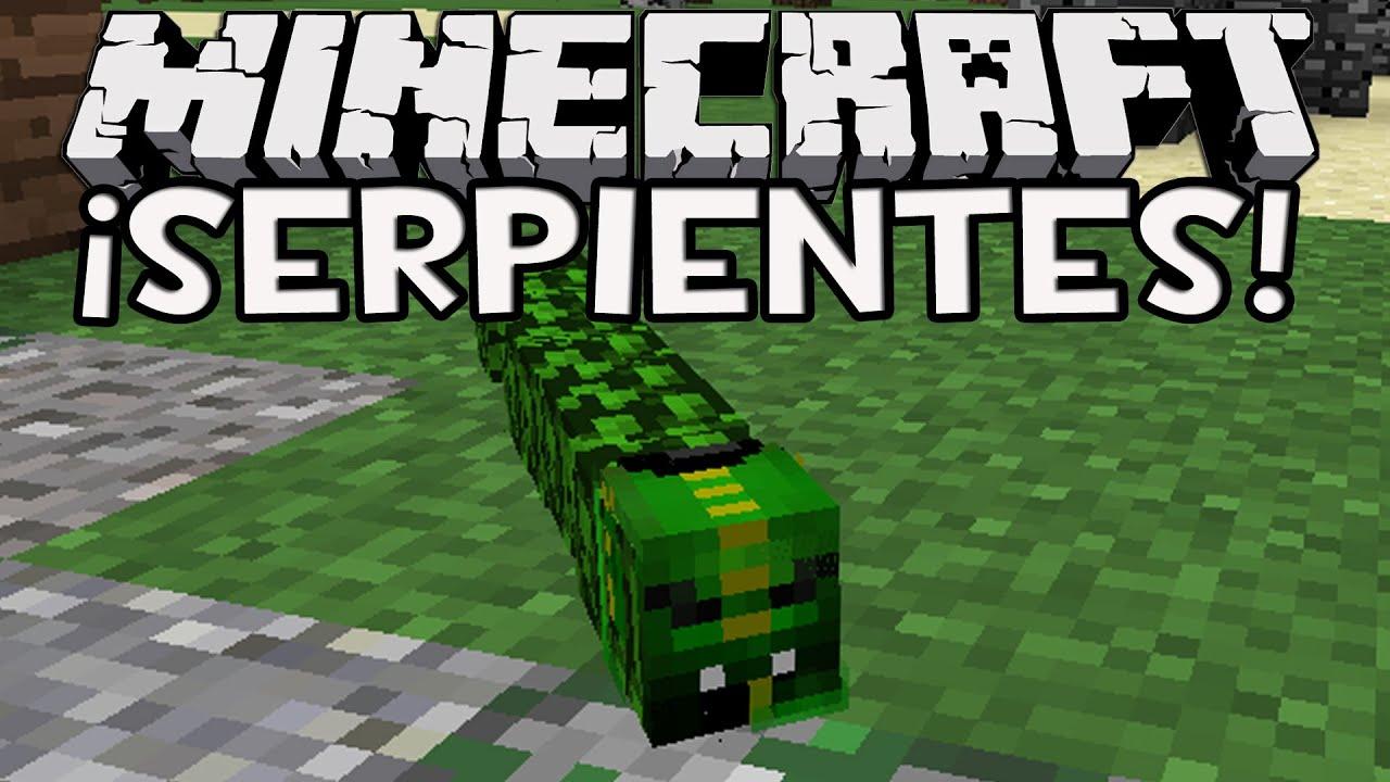 Minecraft 1 8 serpientes armas de veneno sin mods 100 - Decoraciones para minecraft sin mods ...