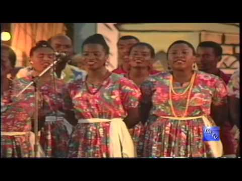 G.B.T.V. CultureShare ARCHIVES 1993: NATIONAL FOLK GROUP OF GRENADA  #3  (HD)
