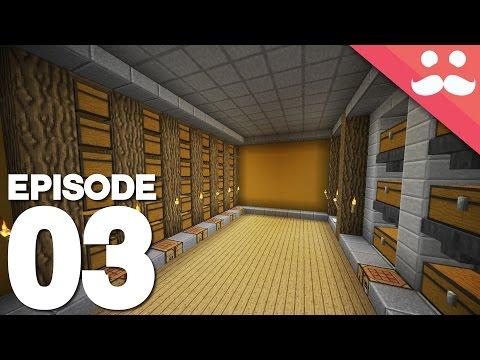 Hermitcraft 4: Episode 3 - Starter Storage...
