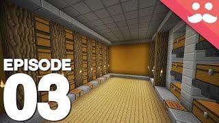Hermitcraft 4: Episode 3 - Starter Storage System