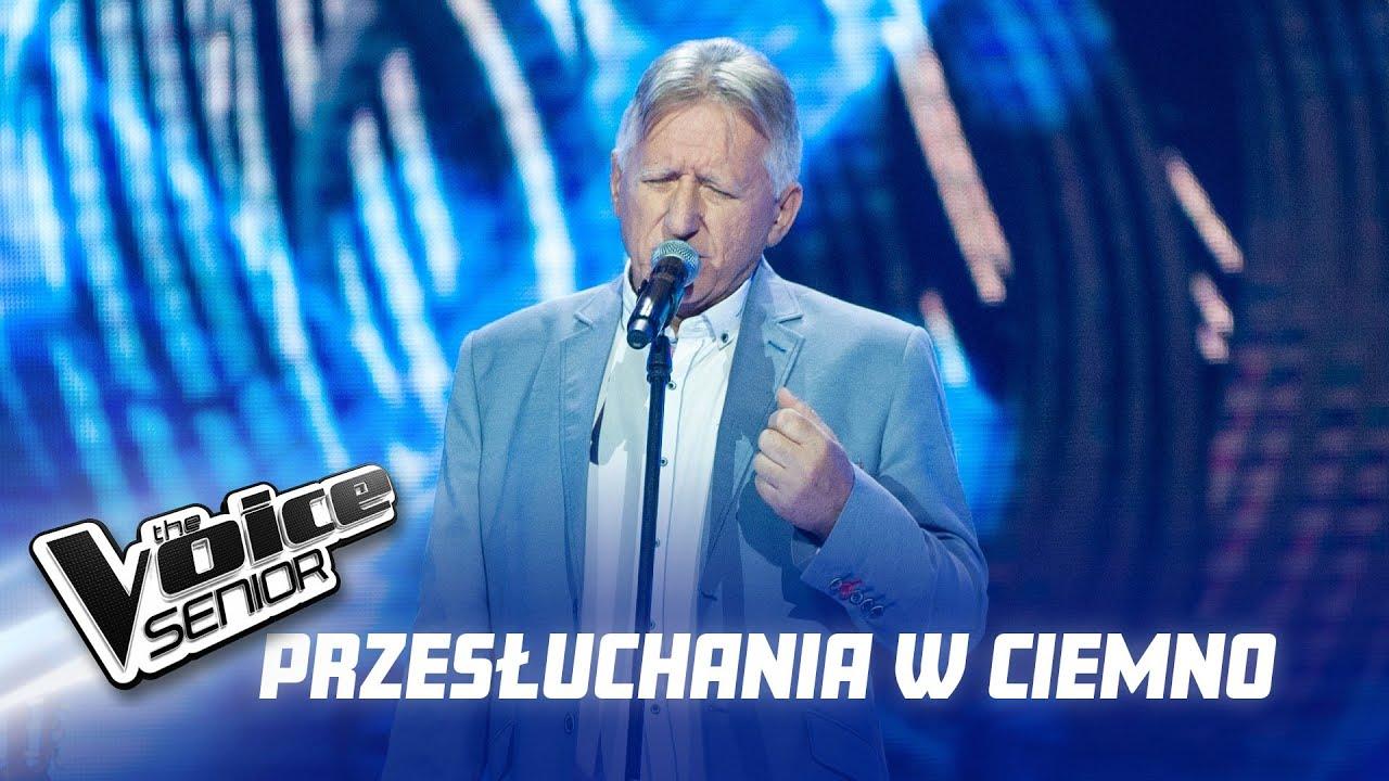 """Wiesław Herliczko - """"Małe tęsknoty"""" - Przesłuchania w ciemno - The Voice Senior 2"""