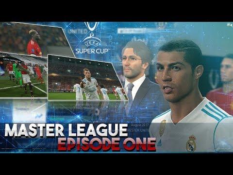 [TTB] PES 2018 - Master League - Luigi Returns - UEFA Supercup & More - Episode 1