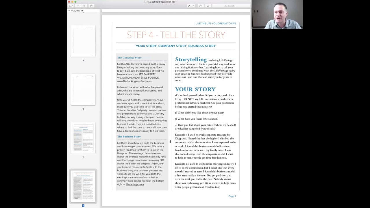 Lifevantage blueprint step 4 tell the story youtube lifevantage blueprint step 4 tell the story malvernweather Image collections