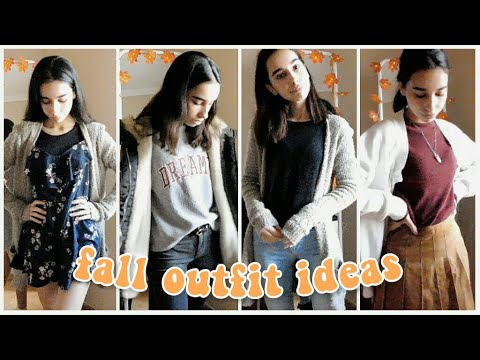 [VIDEO] - cute and wearable fall outfit ideas | autumn lookbook 2019 8