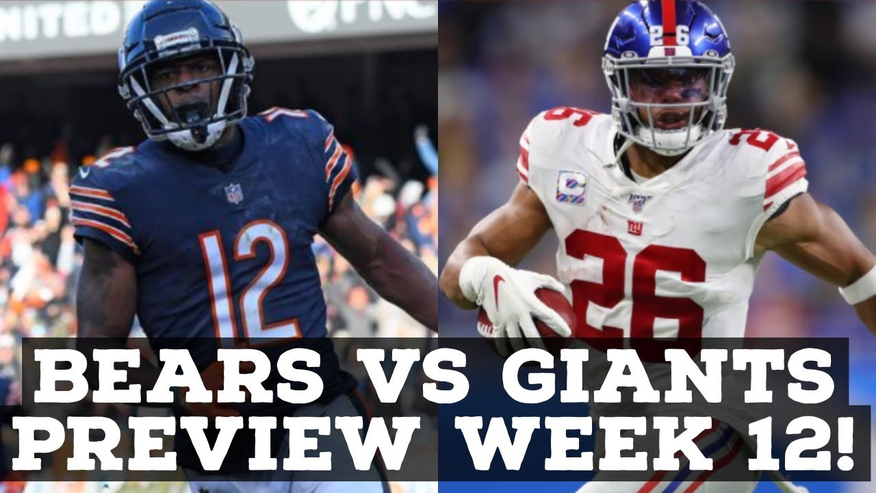 Giants vs. Bears: Preview, predictions, what to watch for
