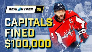 Real Kyper at Noon EP.068 - Caps fined 100k by NHL | Jack Hughes Lighting it up