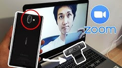 How to use your Phone's Camera as a Webcam for Zoom (Android)