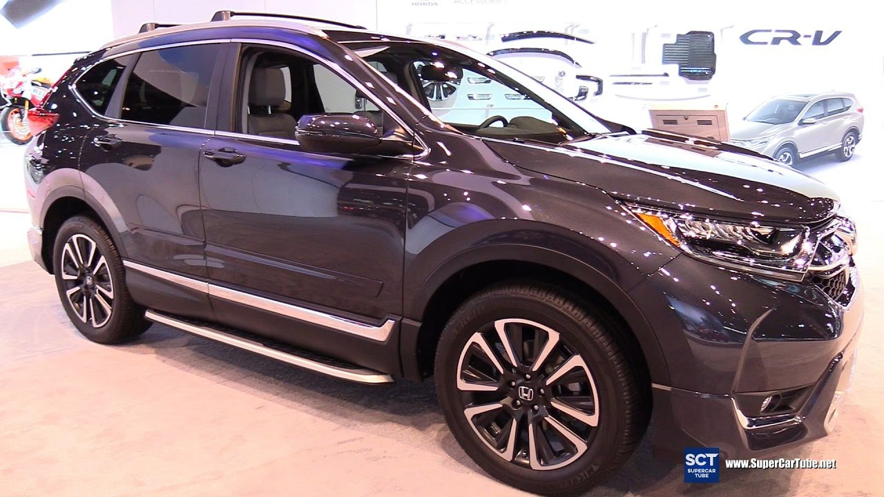 2017 Honda Cr V Touring Exterior And Interior Walkaround Chicago Auto Show