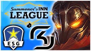 ESG vs SK Halbfinale SINNLeague! Highlights - League Of Legends   Noway4u