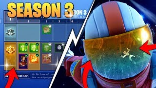 *NEW* SEASON 3 BATTLE PASS REWARDS ANNOUNCED! - (SPACE THEME + NEW ITEMS!) - Fortnite Battle Royale!