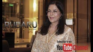 Zeenat Aman on Bollywood THEN vs NOW   RUBARU   THE SHOW TIME