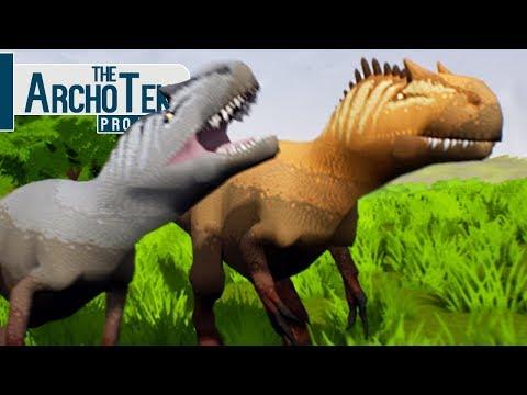 The Archotek Project - Território Dos Allosaurus, Caçando Em Grupo! | Dinossauros (#12) (PT-BR)