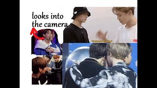 JIKOOK Trying to Not be Too Obvious on Camera | Almost Hugs and Kisses