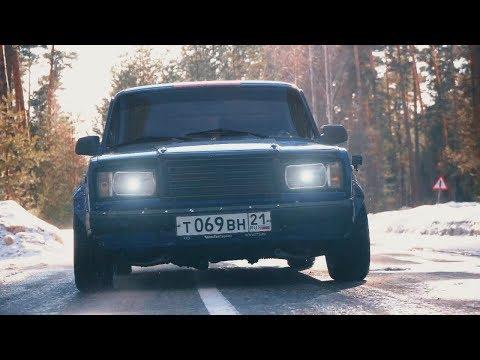 Ваз быстрее чем RS6 зимой? Anton Avtoman.