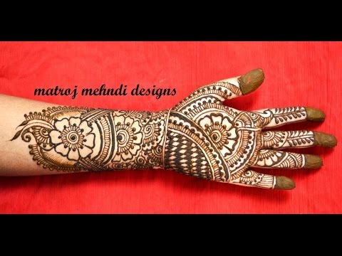 traditional beautiful indian mehndi henna designs for hands
