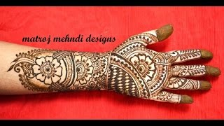 Mehndi Traditional Designs : Mehndi designs for hands videos clips