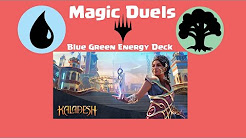 Lets Play! Magic Duels: Blue Green Energy Deck