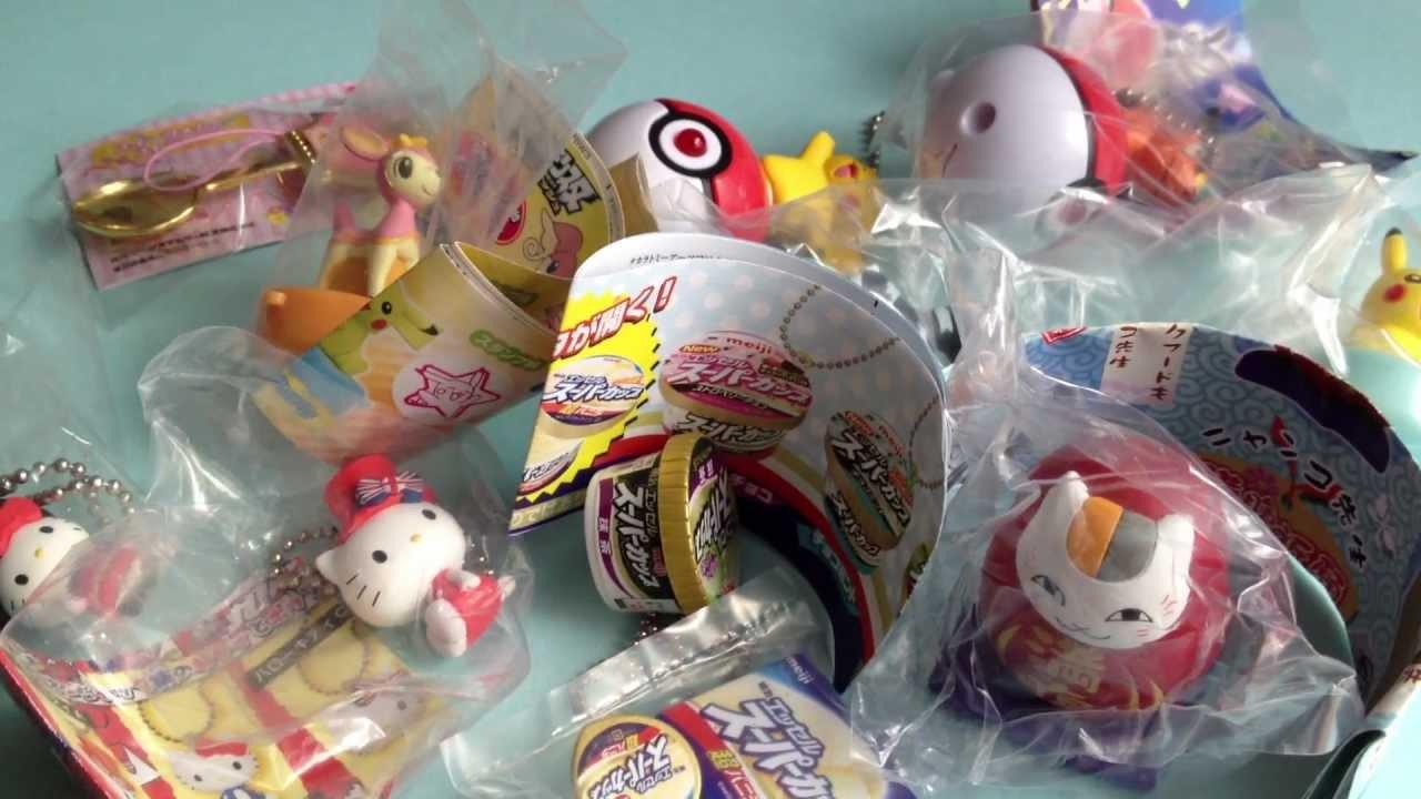 Japanese Capsule Toys : Japanese capsule machine toys youtube