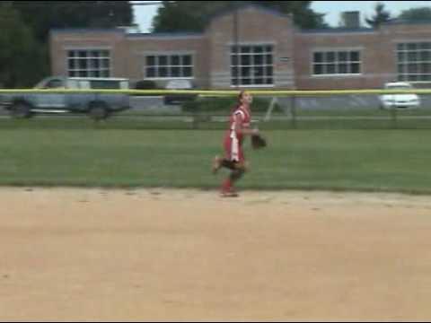 Jorey Aumiller Softball Skills Video