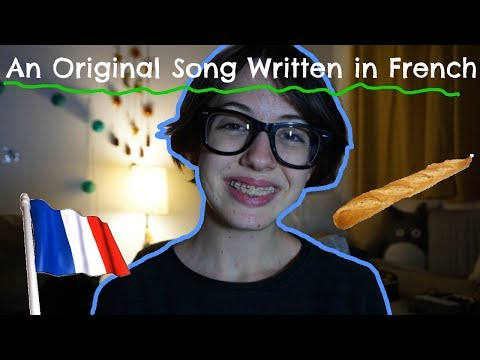 An Original Song in French Written by an American