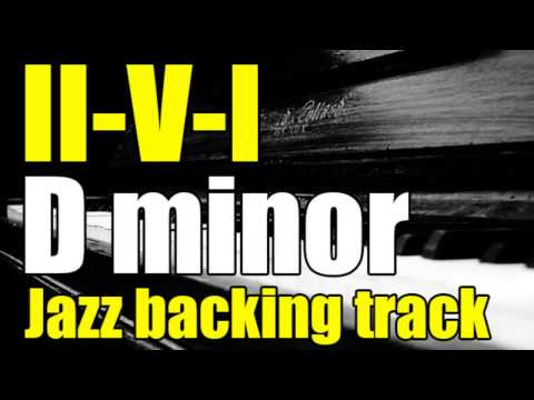 Jazz Backing Track | 2-5-1 In D Minor